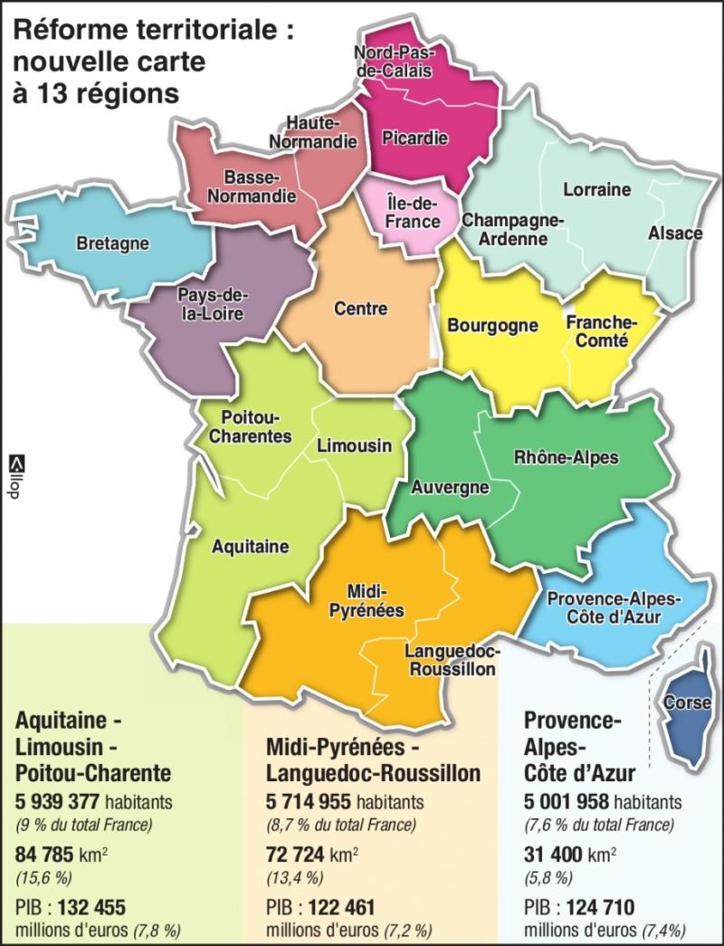 Régionales 2015: Pourquoi La Stratégie De Faire Monter Le intérieur Nouvelles Régions De France 2017