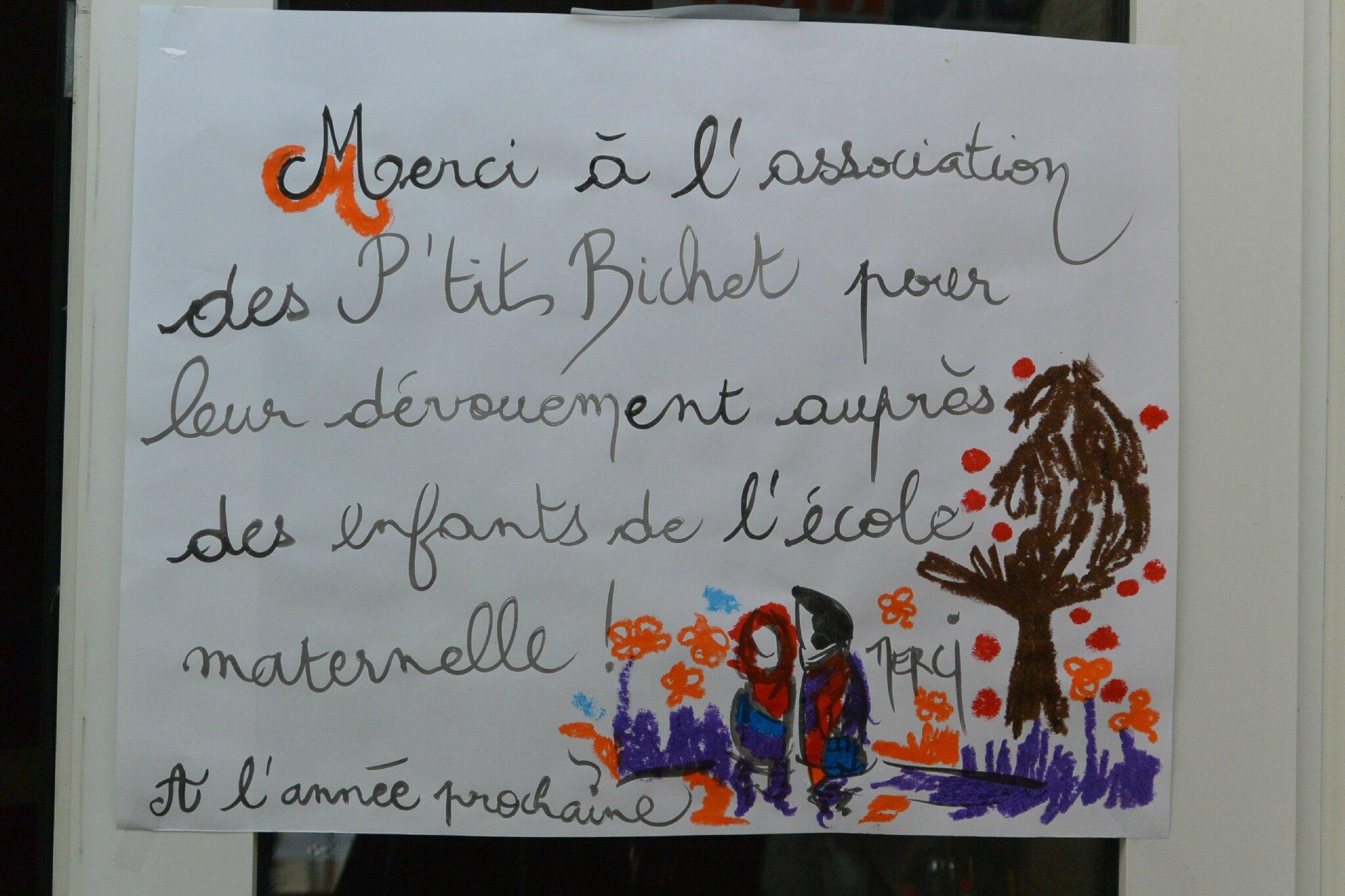 Remerciement Pour Maitresse D'Ecole Maternelle - Faire à Maitresse Ecole Maternelle