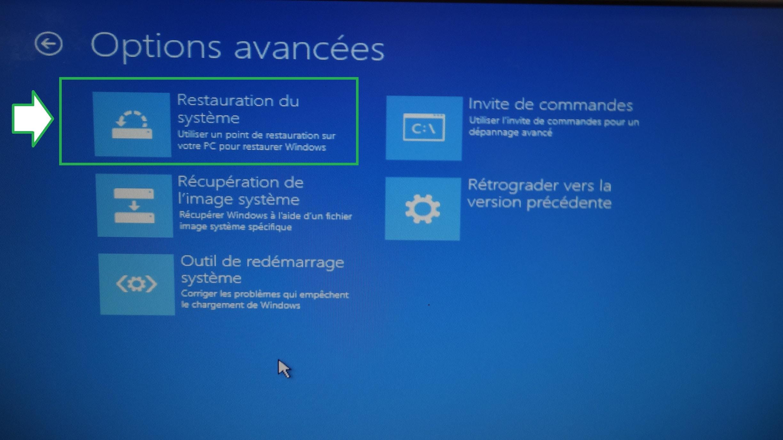 Restaurer / Réparer Windows Quand Le Système Ne Démarre destiné Invite De Commande Pour Reparer Windows 10