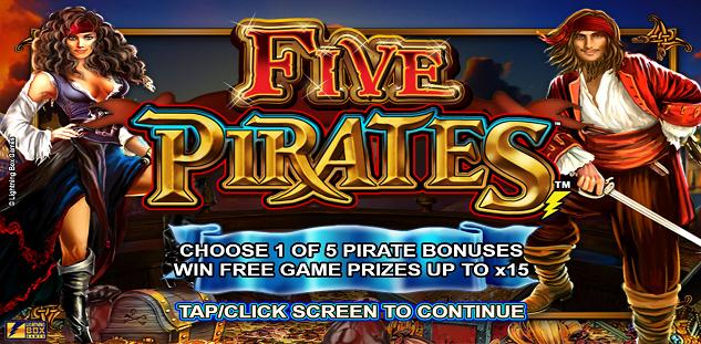 Revue Du Jeu En Ligne Five Pirates | Casino777 Blog pour Jeu En Ligne Pirate