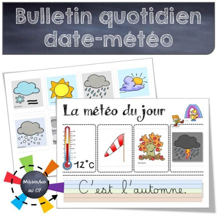 Rituel Du Bulletin Quotidien | Rituels Ce1, Enseignement à Rituel Anglais