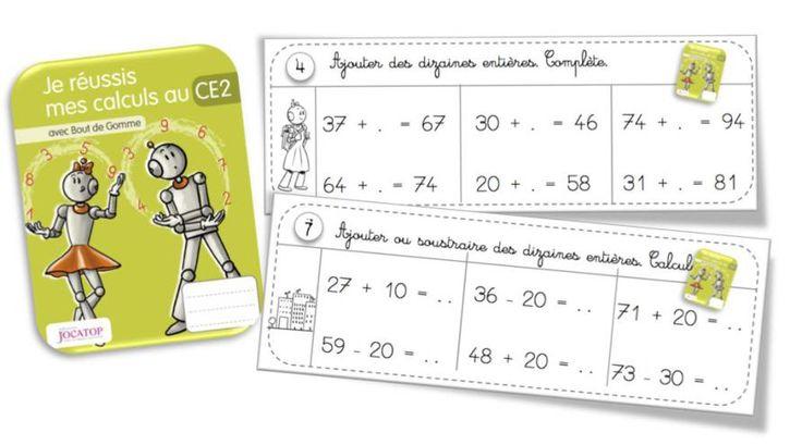 Rituels Calcul Avec Les Cahiers De Calcul Jocatop Ce2 intérieur Jeux De Calcul Ce2