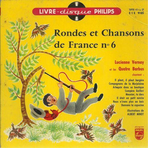 Rondes Et Chansons De France N° 6 : Il Pleut Bergère concernant Compagnon De La Marjolaine