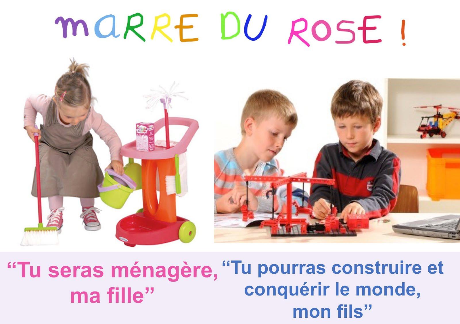 Rose Ou Bleu, Les Stéréotypes Au Service De L'Industrie Du avec Tout Les Jeux De Fille Et De Garcon