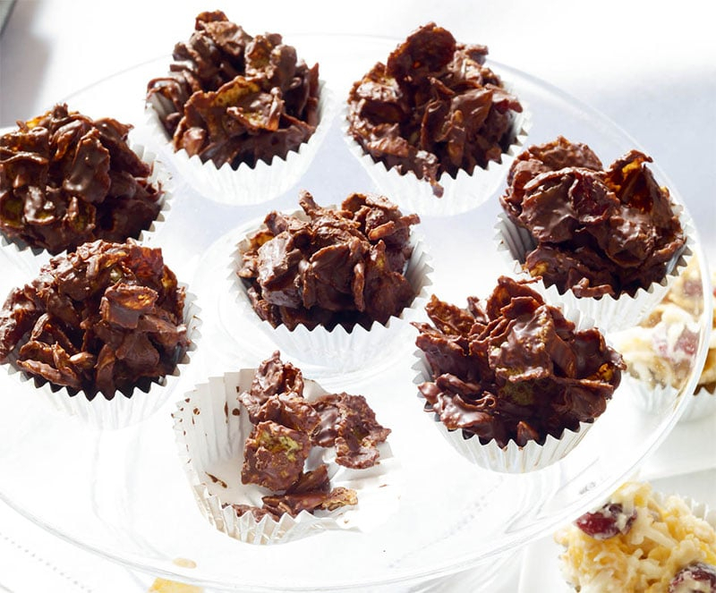 Roses Des Sables Au Chocolat - Cuisinethermomix - Recettes à Recette Rose Des Sables Avec Végétaline