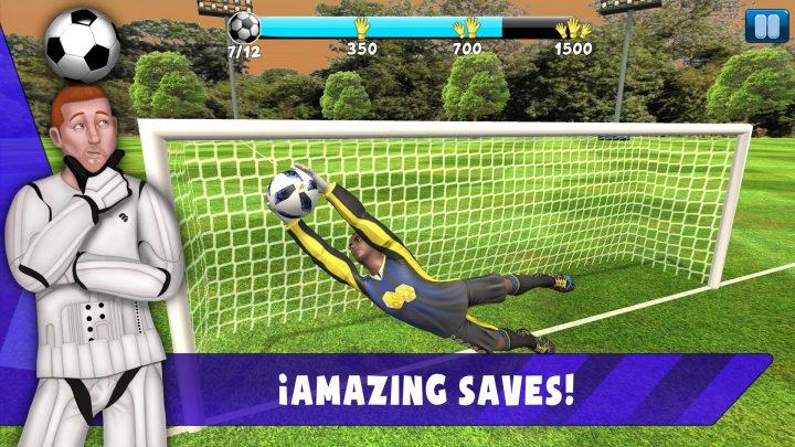 Save! Hero - Gardien De But Jeu Foot 2019 Pour Android concernant Jeux De Gardien