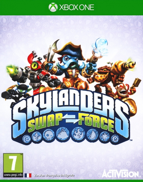 Skylanders Swap Force (Jeu Seul) - Xone - Jeu Occasion Pas intérieur Jeu De Skylanders Swap Force Gratuit