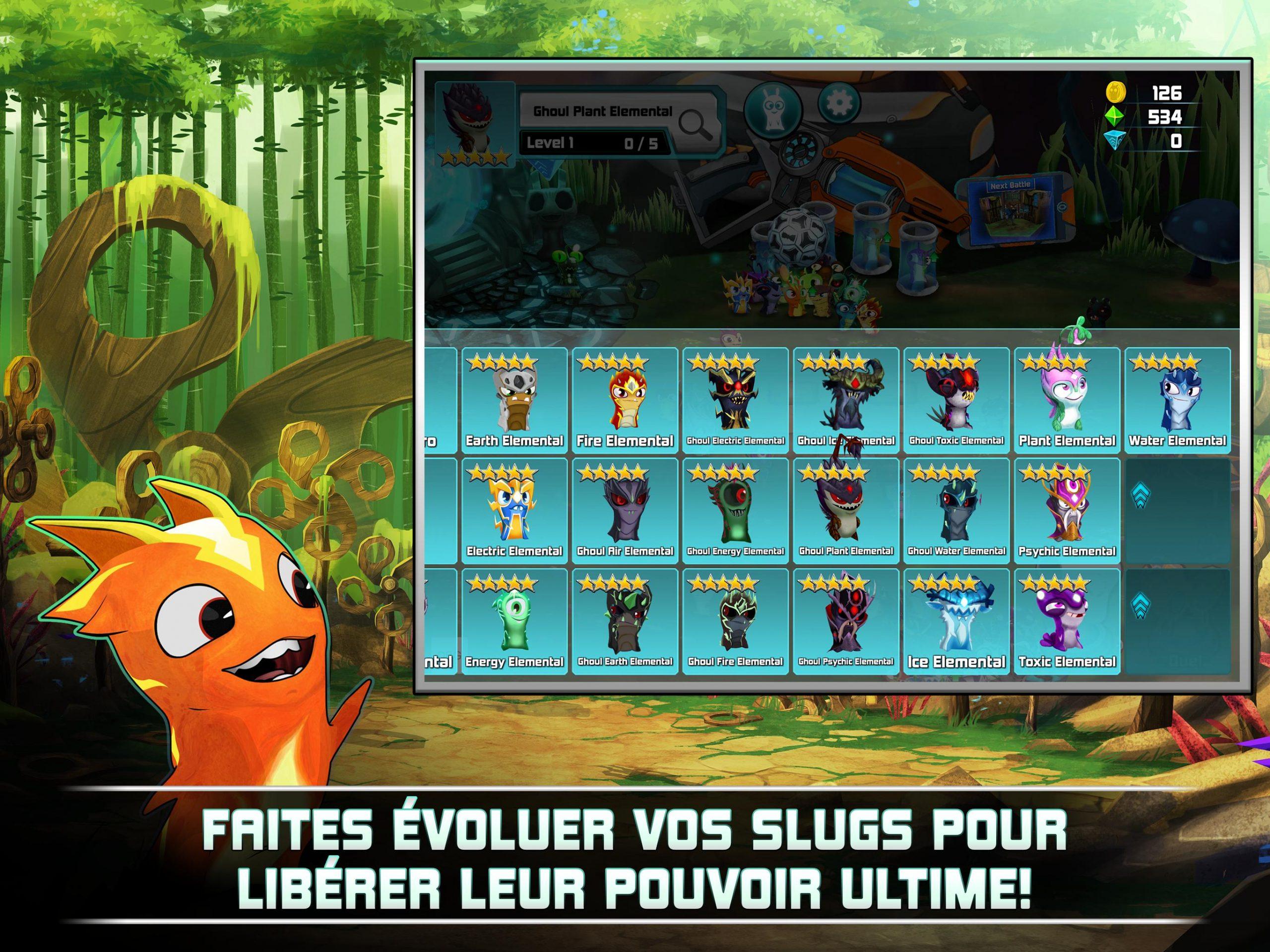 Slugterra: Slug It Out 2 Pour Android - Téléchargez L'Apk destiné Jeux Élémentaire