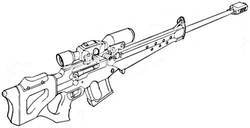 Sniper Rifles dedans Dessin D Arme De Guerre