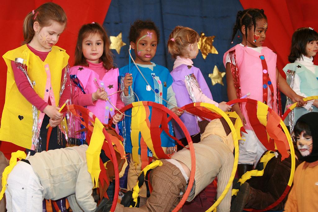 Spectacle De Cirque Par Les Enfants De L Ecole Maternelle à Maitresse Ecole Maternelle