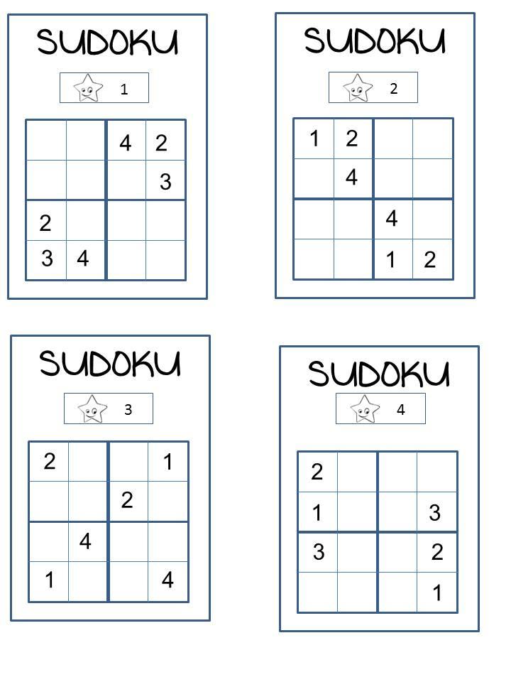 Sudoku Trois Niveaux concernant Sudoku Cm2