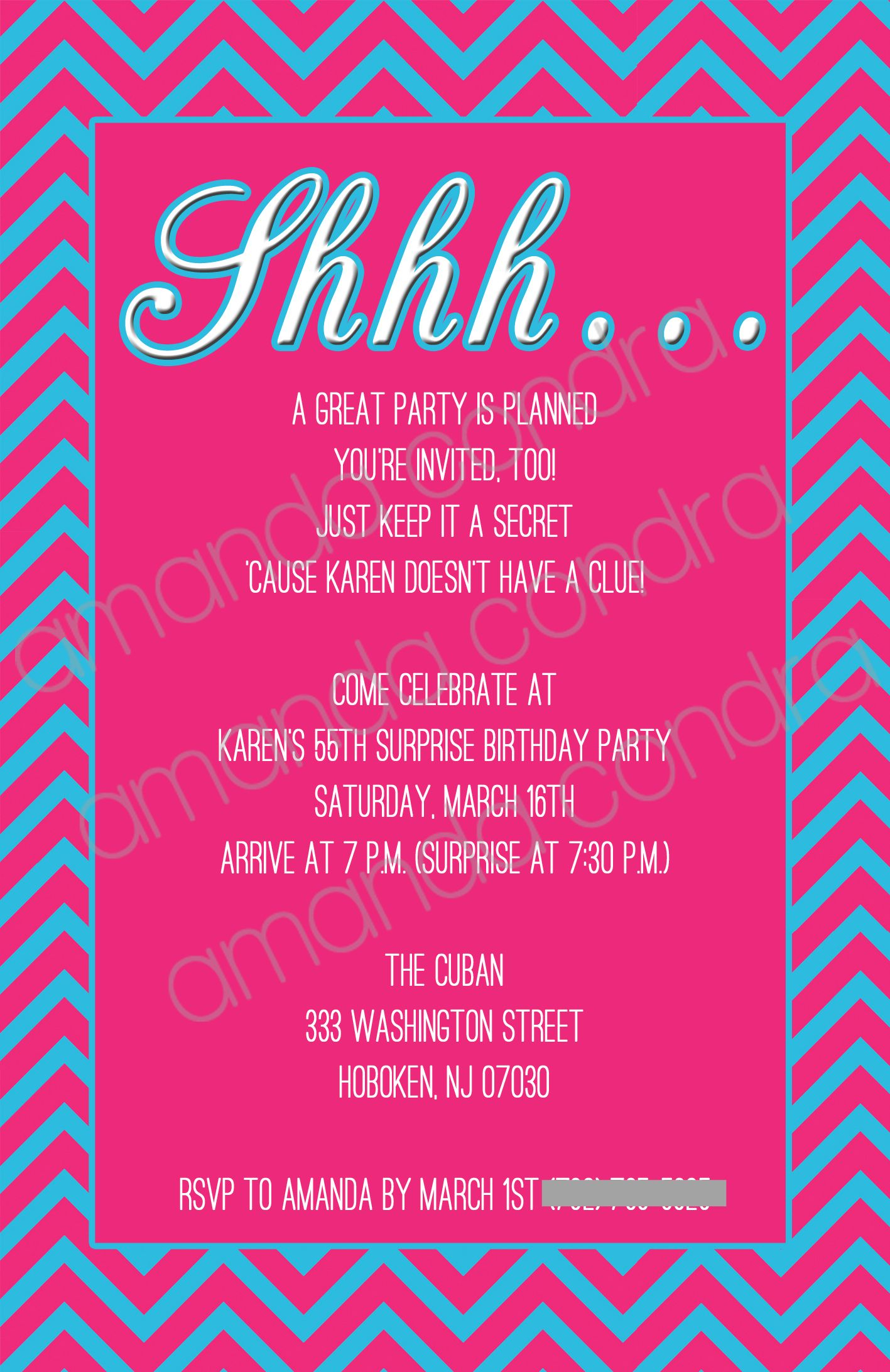 Surprise Party Invitation (With Images) | Surprise Party intérieur Invitation Fête Surprise