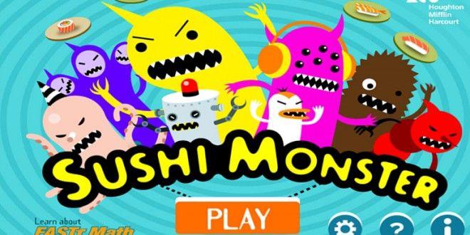 Sushi Monster - Application Gratuite Addition Et serapportantà Application Educative Maternelle Gratuite