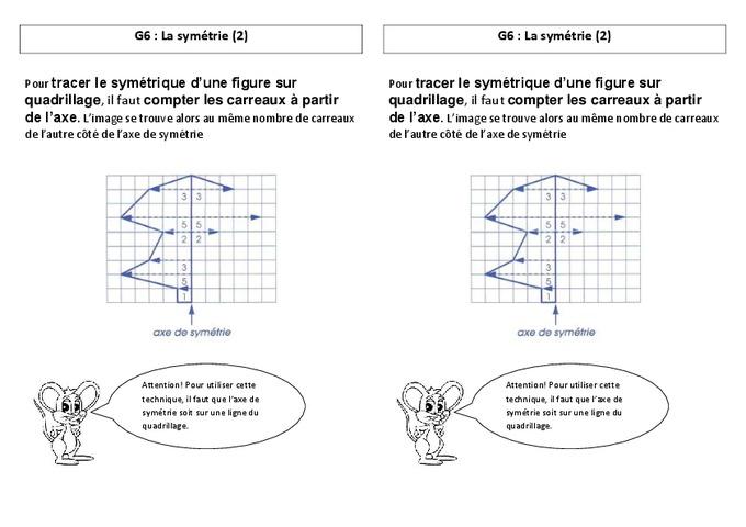 Symétrie - Ce2 - Leçon - Pass Education tout Exercice Symétrie Axiale Ce2