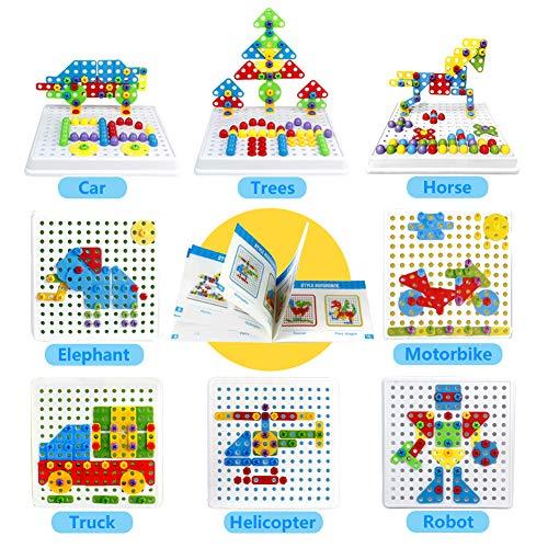 Symiu Mosaique Enfant Puzzle 3D Construction Enfant Jeu encequiconcerne Puzzle Gratuit Pour Fille De 3 Ans