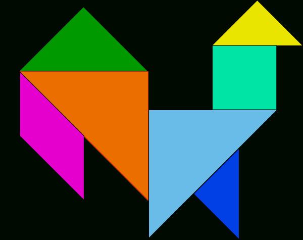 Tangram Puzzles 11 pour Pièces Tangram