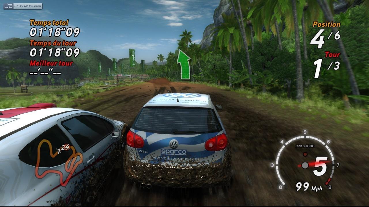 Test Sega Rally Sur Pc tout Telecharger Jeux De Course De Voiture Gratuit