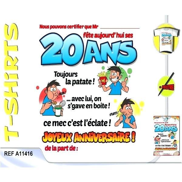 Texte D'Invitation Anniversaire Humoristique 20 Ans New pour Texte Invitation Anniversaire 20 Ans Original