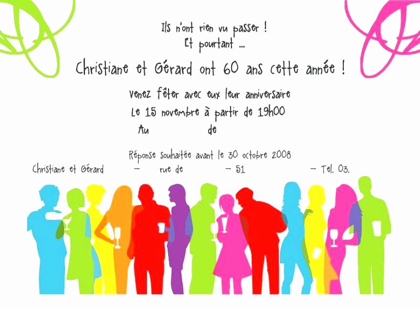Texte Invitation Anniversaire 60 Ans Gratuite À Imprimer concernant Texte Pour Invitation Anniversaire 3 Ans