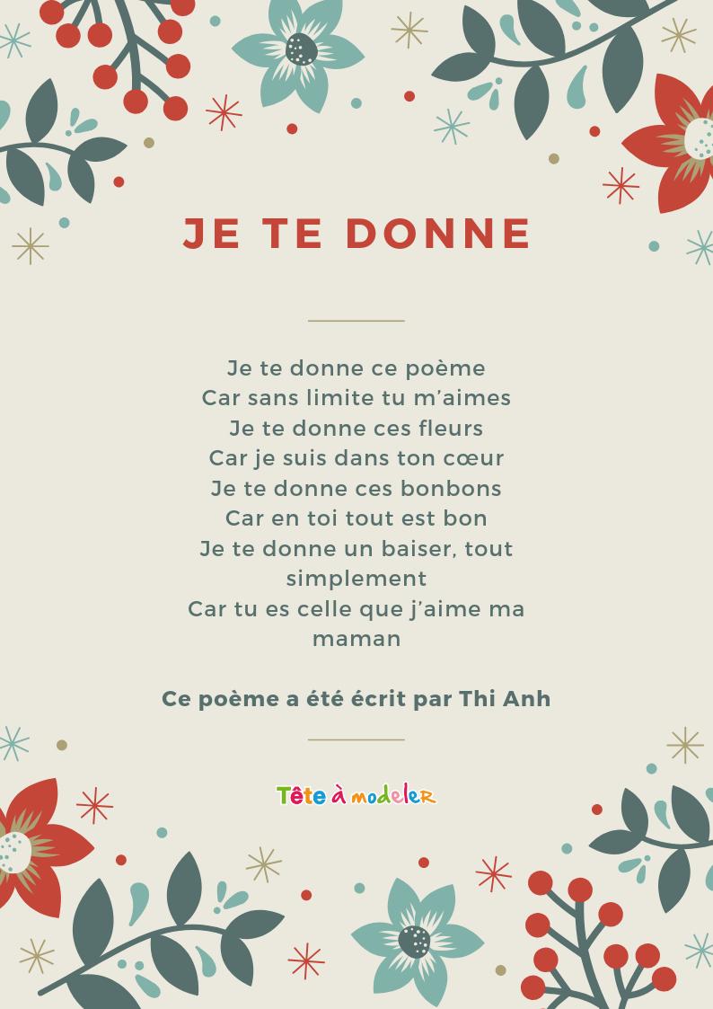 Texte Pour Ma Filleule Que J Aime concernant Poeme D Enfant
