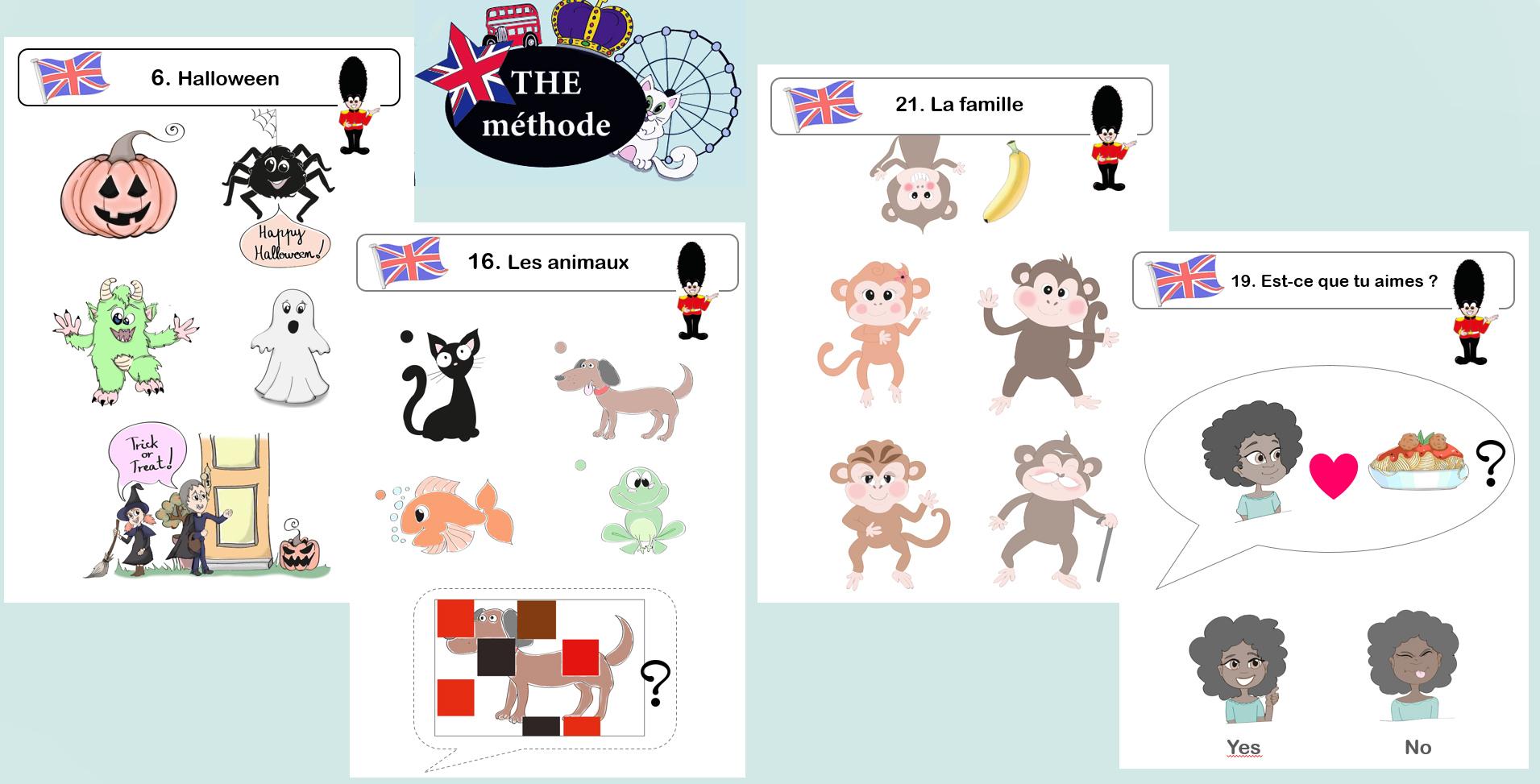 The Méthode, La Méthode D'Anglais Pour Les Gs Cp Ce1 (2 à Jeux En Anglais Gratuit