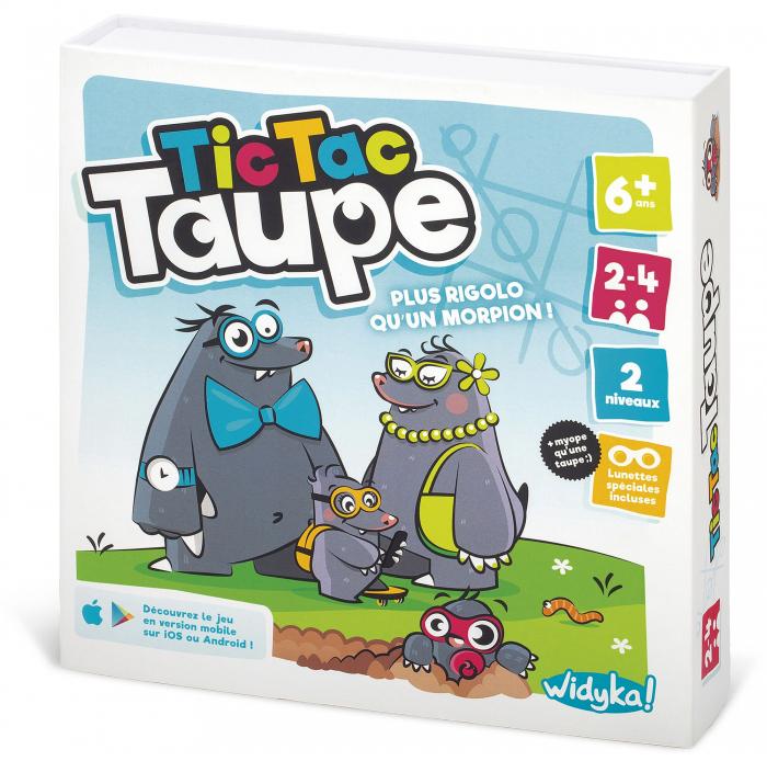 Tic Tac Taupe Widyka - Jeux De Société - Anniversaire tout Jeux De Taupe