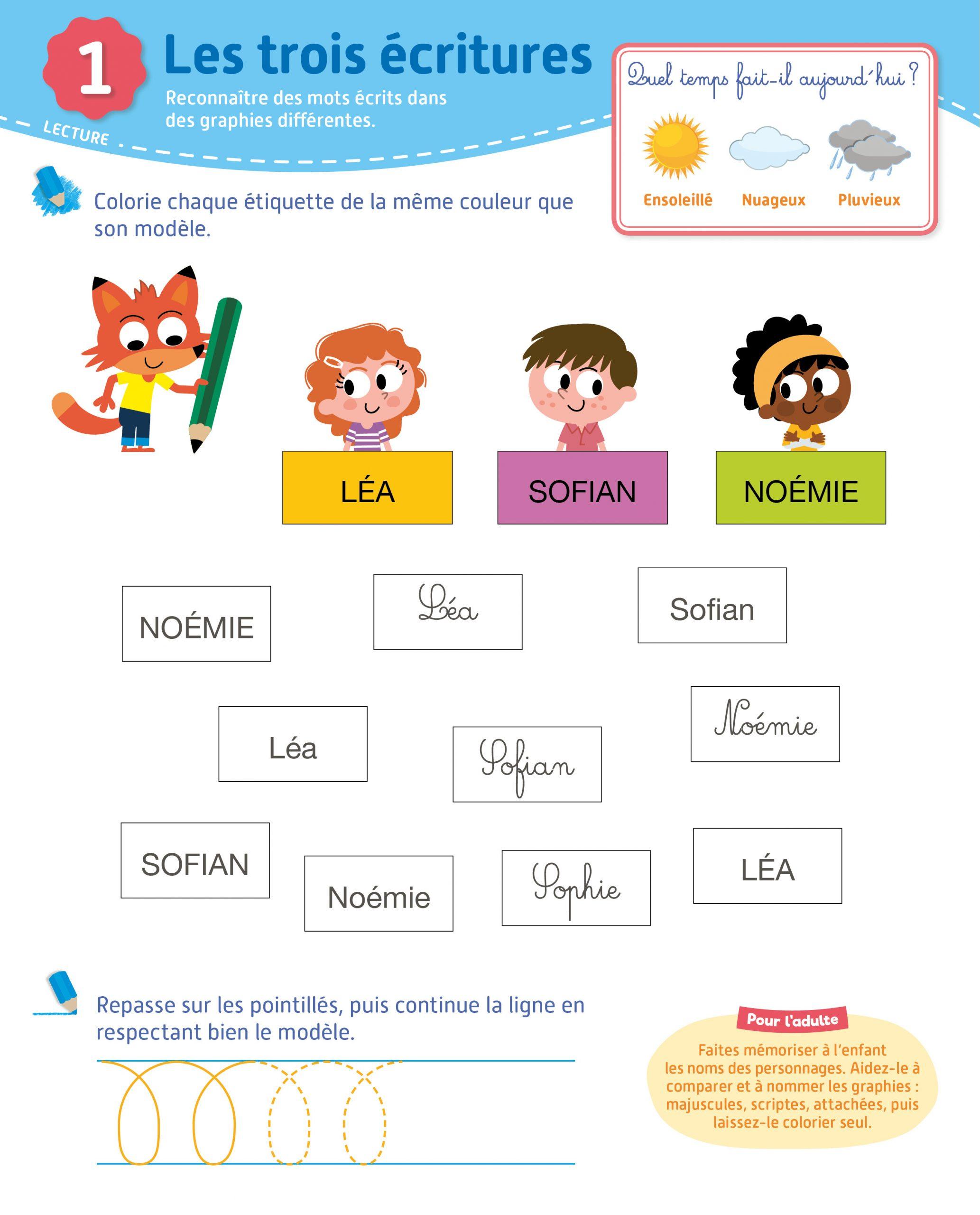 Toute Ma Maternelle- Grande Section 5-6 Ans | Hachette.fr destiné Exercice Petite Section Gratuit