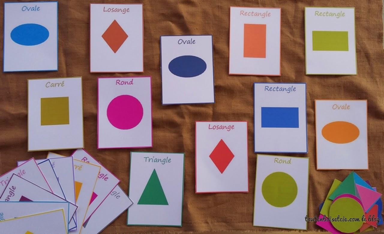 Toutenboisetcie: Les Formes Géométriques intérieur Les Formes Geometrique