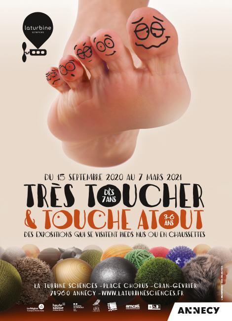 Très Toucher & Touche Atout   Exposition - Science   15 pour On Peut Le Voir Mais Pas Le Toucher