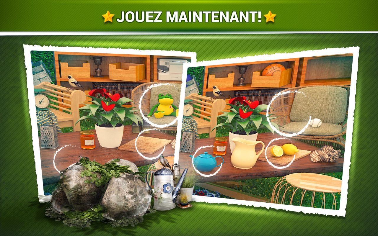 Trouver La Différence Jardin - Jeux Midva Gratuits. dedans Trouver La Différence