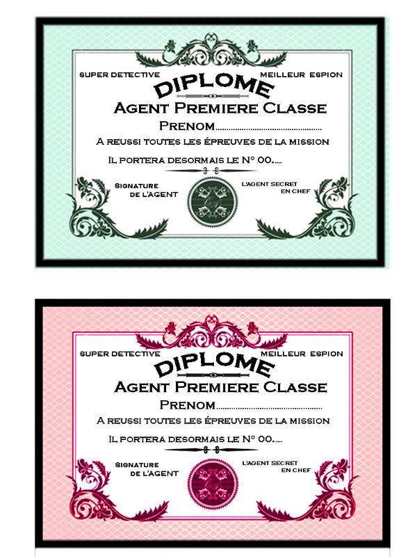 Un Anniversaire D'Agent Secret - Féelyli à Invitation Anniversaire Agent Secret