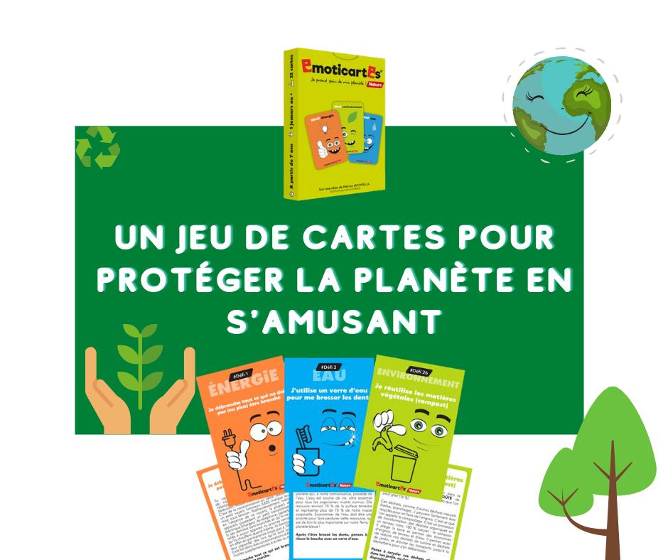 Un Jeu De Cartes Pour Protéger La Planète En S'Amusant destiné Logiciel Pour Créer Un Jeu De Carte