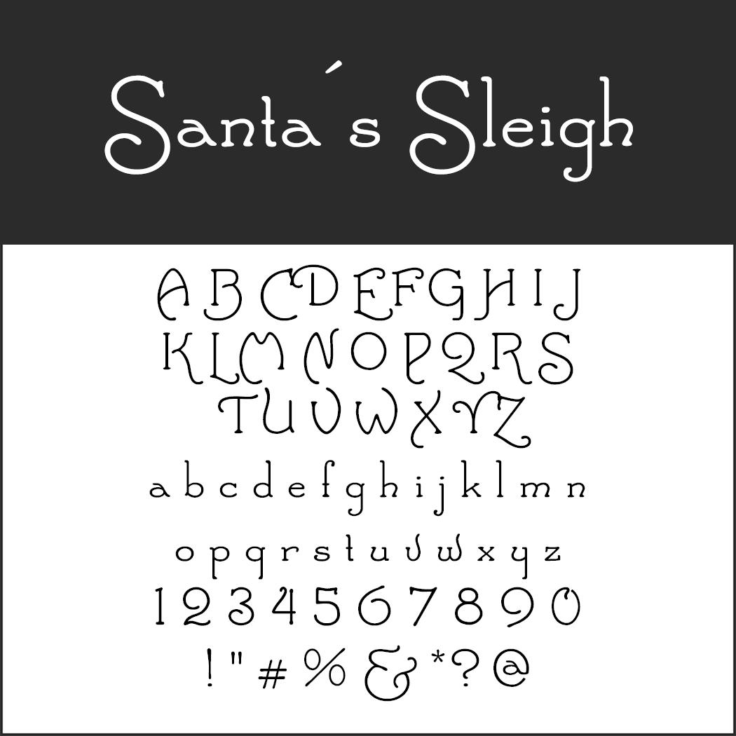 Un Large Choix De Polices D'Écriture Pour Noël À destiné Police Ecriture Noel