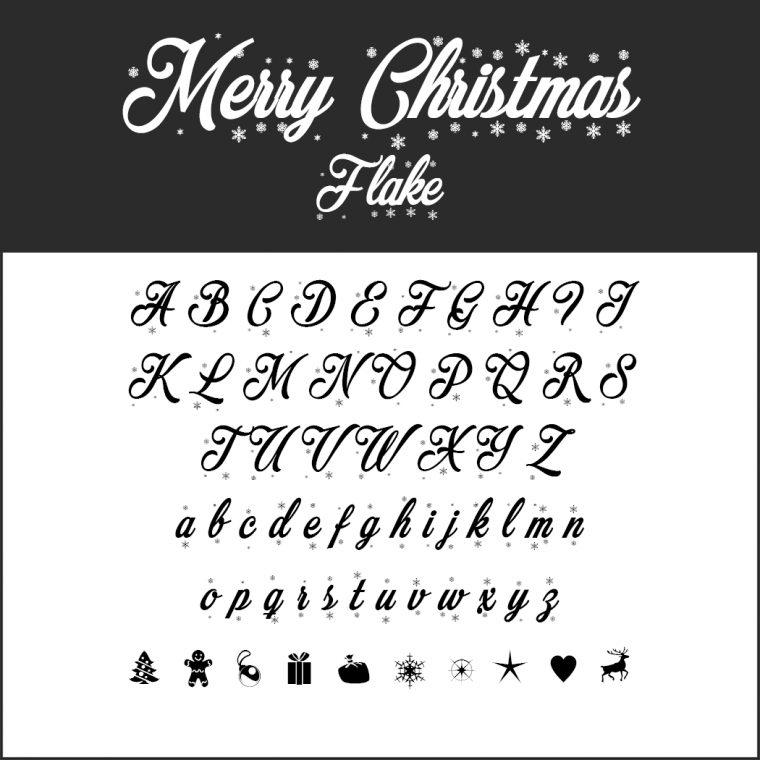 Un Large Choix De Polices D'Écriture Pour Noël À encequiconcerne Police Ecriture Noel