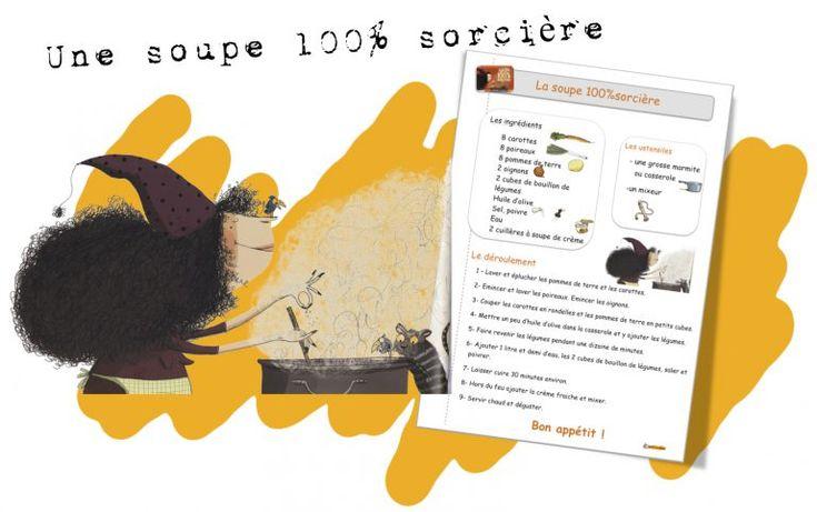 """Une Soupe 100% Sorcière - Mme Annelise Et Les """"Apprentis dedans Une Soupe 100 Sorcière"""