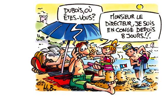 Vacances, J'Oublie Tout Hum! - Mes Dessins D'Actu, D avec Image Humoristique Vive Les Vacances