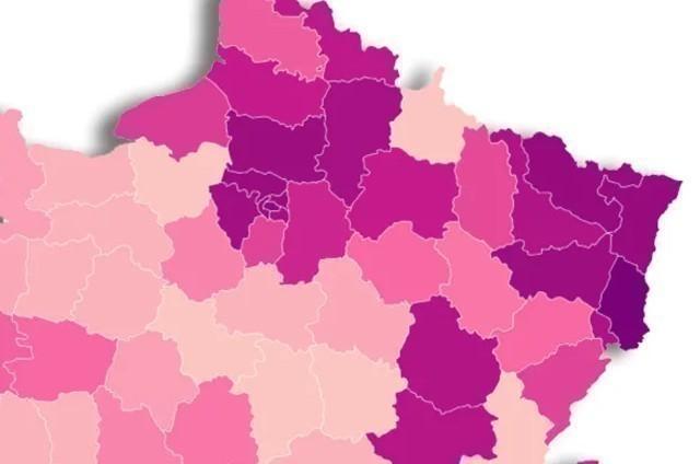 Voici La Liste Des Départements Qui Pourraient Ne Pas Être encequiconcerne Listes Des Départements De France