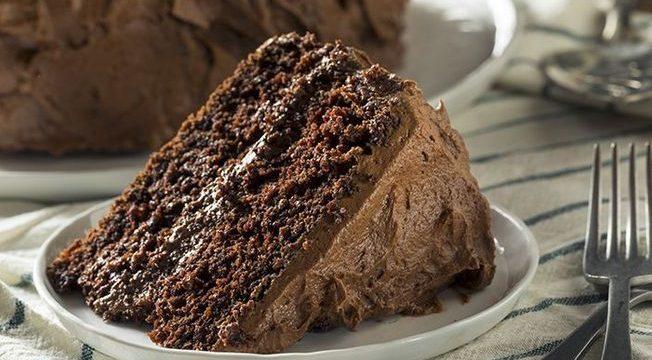 Voici La Recette D'Un Gâteau Au Chocolat Sans Farine, Sans pour Gateau Au Chocolat Au Lait Sans Oeuf