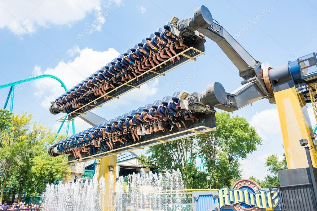 Wonderland-Du Canada Un Des Plus Grands Parcs D avec Plus Gros Parc D Attraction Du Monde