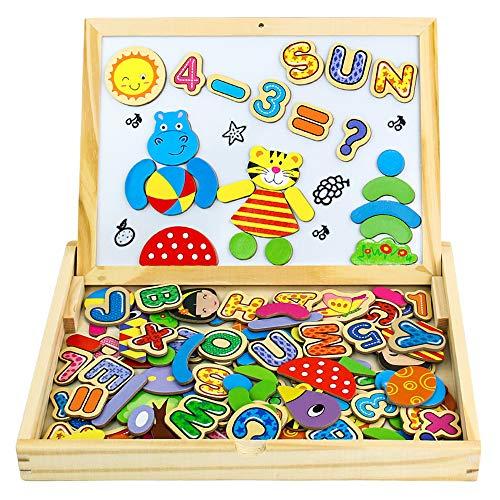Yixin Puzzle Enfant 3 Ans Jouet En Bois Magnétique Jeux tout Jeux Pour Garcon De 3 Ans