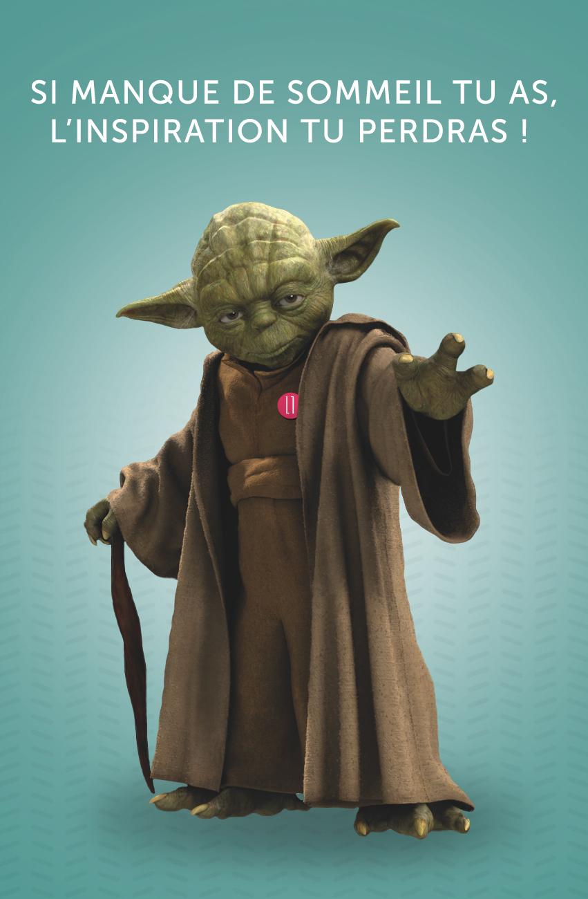 Yoda Et Les Commandements Du Jedi D'Agence De Com destiné Petit Padawan